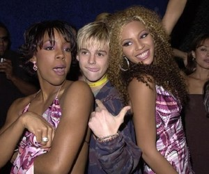 2000, beyonce knowles, and aaron carter image