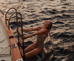boat, chic, and exotic image