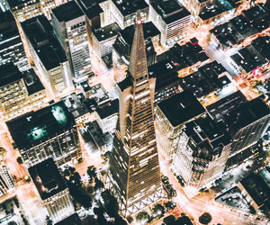 aerial photography, city, and cityscape image