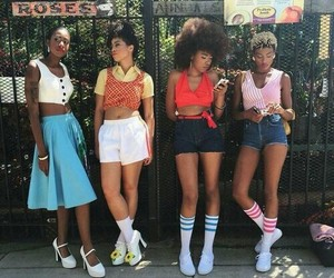 vintage, girls, and aesthetic image