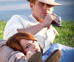ryan gosling, emma stone, and gangster squad image