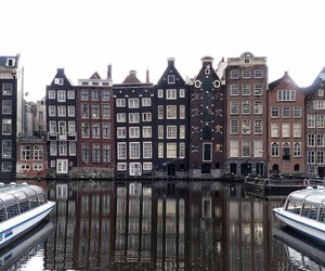 city, building, and amsterdam image