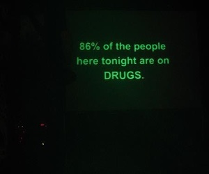 drugs, grunge, and green image