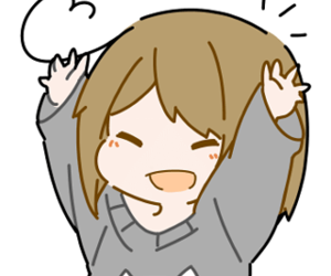 aesthetic, anime girl, and excited image