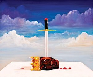 kanye west and george condo image