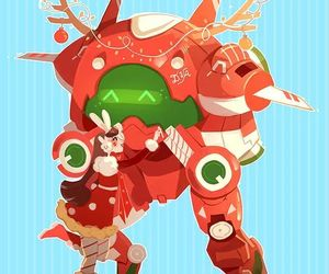 christmas, video game, and overwatch image