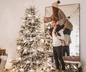 christmas, couple, and xmas image