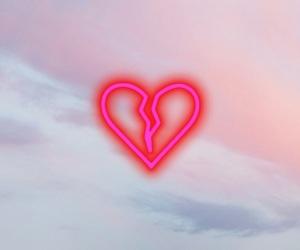 heart, heartbreak, and wallpaper image