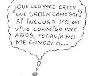 frases, conocer, and yo image
