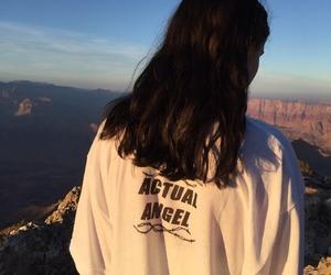 girl, hair, and angel image