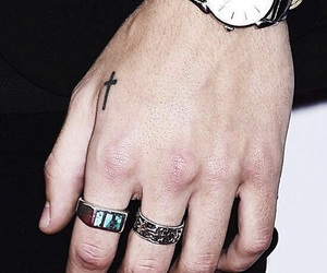 Harry Styles, hands, and one direction image