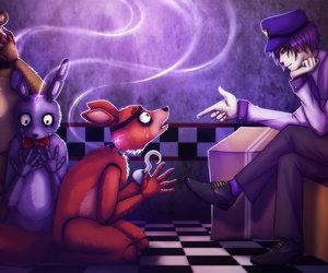 fnaf, Bonnie, and foxy image