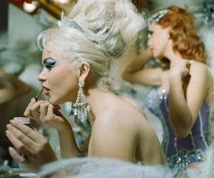 showgirl, vegas, and vintage image