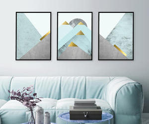 mountains, turquoise, and picture wall image