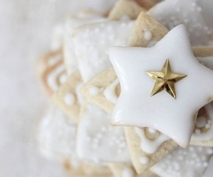 stars, christmas, and winter image