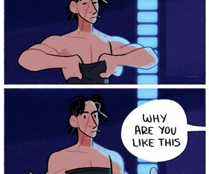 comic, jedi, and star wars image