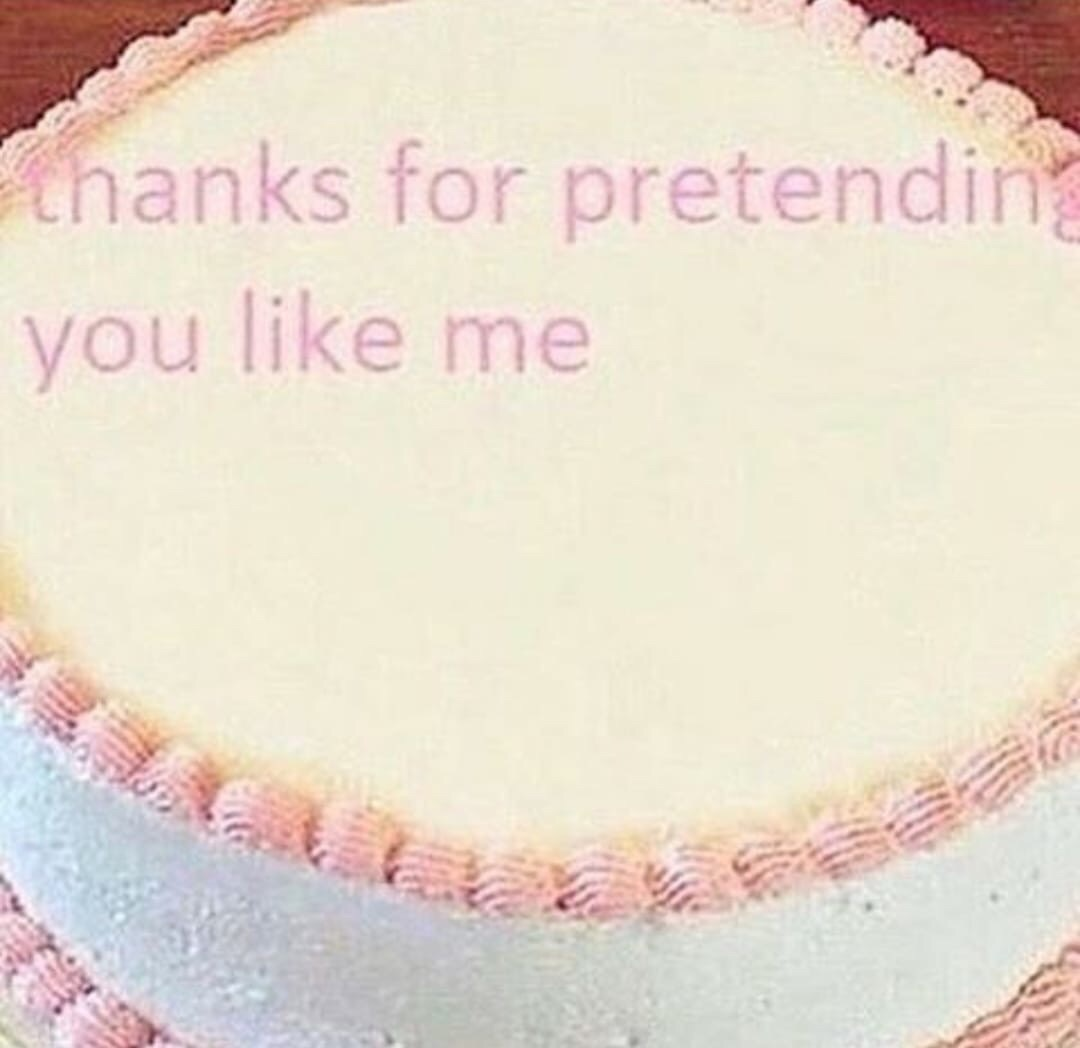 cake, funny, and memes image