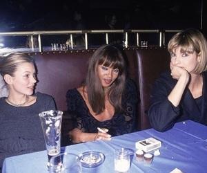 kate moss, linda evangelista, and Naomi Campbell image