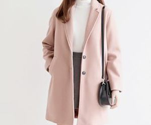 fashion, coat, and korean fashion image