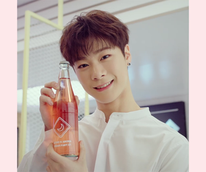 astro, moonbin, and baby image