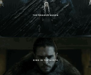 king, got, and game of thrones image