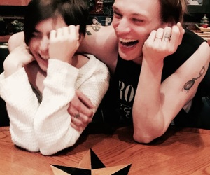 lily collins, Jamie Campbell Bower, and couple image