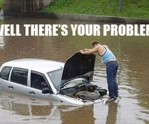 funny, car, and problem image