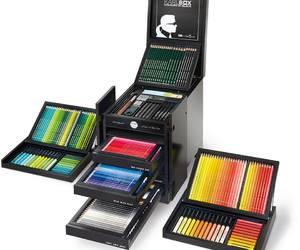 colors, fabercastell, and karllagerfeld image