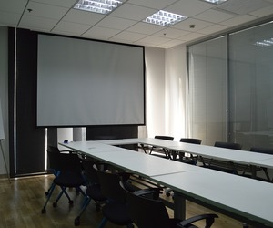 office interior design, conference room design, and office design services image