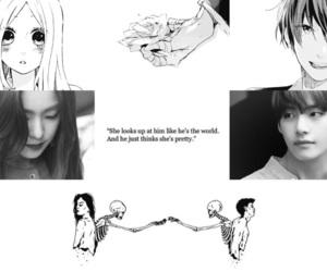 aesthetic, anime, and manga girl image
