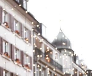 lights, city, and christmas image