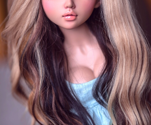 beauty, clothes, and doll image