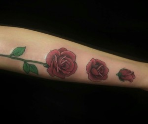 aesthetic, alternative, and rose image