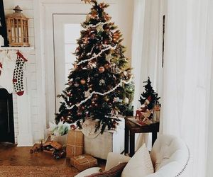christmas, christmas tree, and holiday image