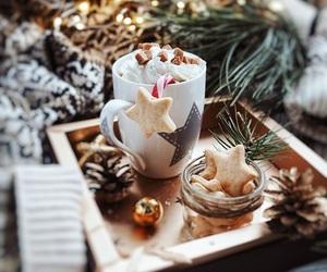 Cookies, christmas, and lights image
