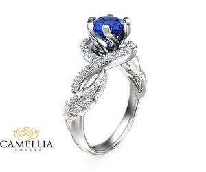 etsy, engagement ring, and whitegold image