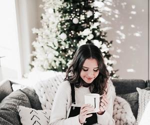 christmas, girl, and holidays image