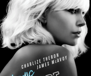 Charlize Theron, movie, and atomic blonde image