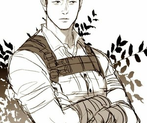 fanart, minho, and the maze runner image