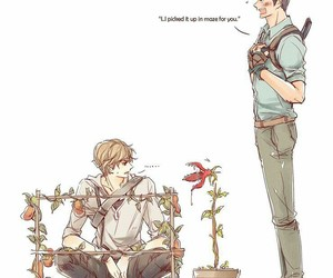 yaoi, the maze runner, and cute image