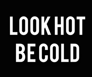 Hot, quotes, and cold image
