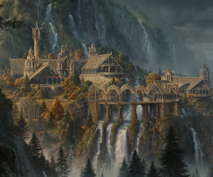 fanart, tolkien, and middle earth image