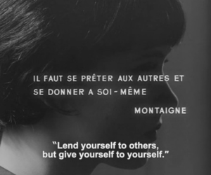 quotes, anna karina, and montaigne image