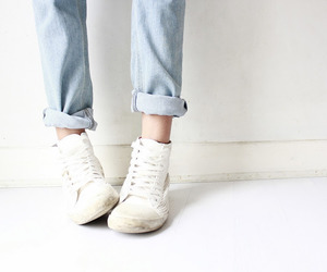 shoes, style, and jeans image