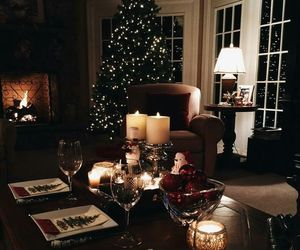 christmas, winter, and holidayvibes image