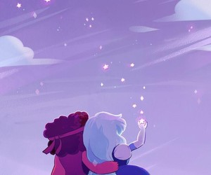 sapphire, steven universe, and ruby image