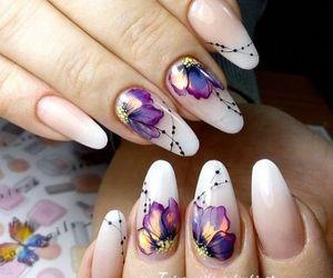 nails, design, and nail art image