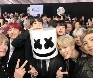 red carpet, bts, and amas‬ image