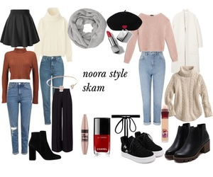 look, outfit, and skam image