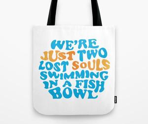bag, fishbowl, and wishyouwerehere image
